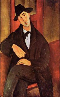 modigliani paintings | Mario Varvogli - Amedeo Modigliani - Oil Painting Reproduction