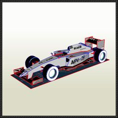 F1 Paper Model - 2014 McLaren MP4-29 Racing Car Free Download - http://www.papercraftsquare.com/f1-paper-model-2014-mclaren-mp4-29-racing-car-free-download.html