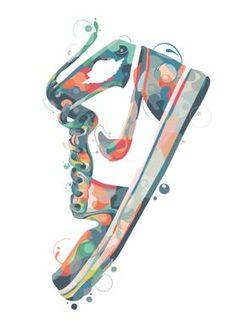 Sneakers Wallpaper, Shoes Wallpaper, Nike Wallpaper Iphone, Painting Logo, Pop Art, Sneakers Sketch, Travis Scott Wallpapers, Shoe Poster, Sneaker Art