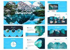 25 Free Water & Ocean Presentation Templates (PowerPoint PPT & Google Slides 2020) Powerpoint Slide Designs, Powerpoint Free, Powerpoint Presentation Templates, Slide Power Point, Free Ppt Template, Pptx Templates, Water Branding, Slide Background, Custom Icons