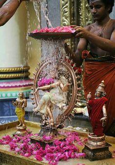 Shiva Nataraja abhiseka