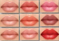 I was researching into lip colours and found various images on lips and different tonal shades ranging from pinks, reds, browns and beige. The image here was a real inspiration and in photoshop I pulled some of the colours out to create a useable colour palette, and applied them to my lip illustration. This will show the diversity of people and cultures worldwide, more so than bright red only.