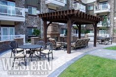 Louvered Roofs Gallery, Louvered Roofs Images, Louvered Pics   Western Timber Frame - rosegate9_12x20
