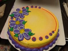 DQ Dairy Queen cakes...flowers.