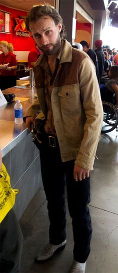 Rick Grimes Doesn't Care Where Carl Is, He's Getting Lunch #cosplay