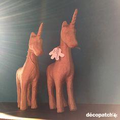 #decopatch #einhorn #einhörner #unicorn #unicorns #pappmaché #DIY #basteln #bekleben #verzieren