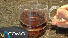 Hacer tazas con botellas de cristal