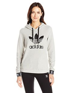 Women's Athletic Hoodies - adidas Originals Womens Slim Hoodie ** See this great product. (This is an Amazon affiliate link)