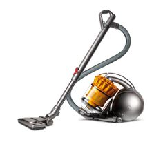 DC39 Multi Floor Cylinder Bagless Vacuum Cleaner - Iron & Yellow