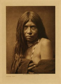 Apache Girl  Edward S. Curtis's The North American Indian  1906