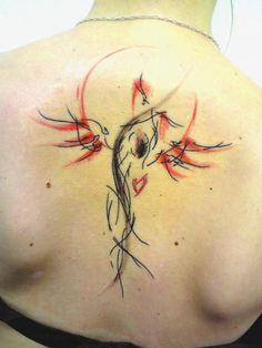 Phoenix Tattoo by Musa at Tribo Tattoo, Prague....LOVE this!!!!
