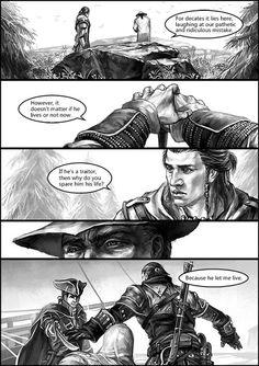 http://sunsetagain.tumblr.com Gravestone #9 Connor Kenway comic strip