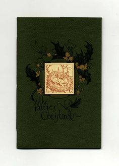"The Fairies' Christmas.  A stunning First Edition/First Printing with French flaps in Very Fine condition. 8 hand-sewn pages, four tipped-in illustrations in full color by Charles van Sandwyk. Signed by Charles van Sandwyk on the title page with small hand-drawn illustration and ""Merry Christmas"" on the facing page."