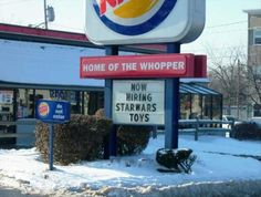 These Funny Fast Food Signs Will Make You Do A Double-Take: Funny Fast Food…