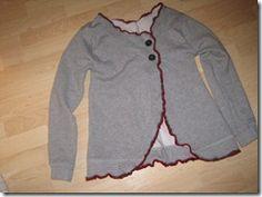 Sweatshirt to Jacket