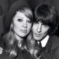 Patti Boyd + George Harrison