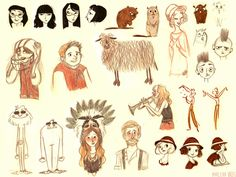 Sketches 12 by marlenakate on deviantART