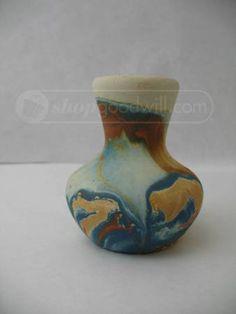 small nemadji pottery vase