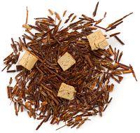 Organic: Red rooibos, marigold flowers, vanilla beans. Perfect Sleepy Time tea