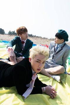Jin, J-Hope and Jimin