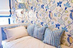 Interior ideas from Christina Murphy Interiors Osborne And Little Wallpaper, Bright Wallpaper, Famous Interior Designers, Luxury Interior Design, Interior Ideas, Beach Bedding Sets, Big Girl Rooms, Dream Rooms, Luxurious Bedrooms