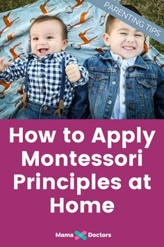How to apply Montessori principles at home. Parenting tips and. The Effective Pictures We Offer Yo Montessori Playroom, Montessori Education, Montessori Theory, Kids Education, Parenting Humor, Parenting Advice, Single Parenting, Teaching Kids, Kids Learning