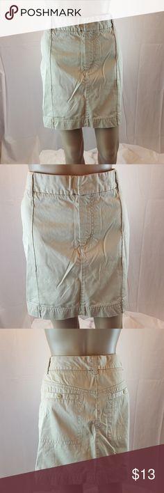 Tommy Hilfiger Skirt sz 14 Khaki mini sz 14 pockets Tommy Hilfiger Skirts Mini