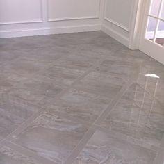 Foyer complete, stunning tile @crystaltile #gorgeous#tile#foyer#design#transitional#warm#gray#blue#beige#greige#neutral#stunning#porcelain#lattice#entry#magnificent#statement#love#interiordesign#happyclients#greendoorinteriors