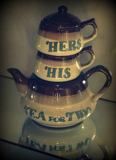 Tea time for both.