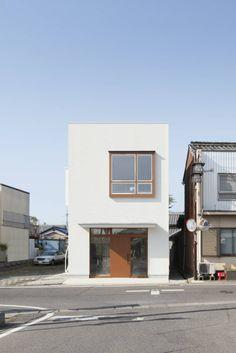 ショップ風のテイストが楽しい店舗併用住宅 ALTS DESIGN OFFICE の Higashihayashiguchi House