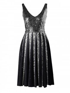 GET $50 NOW   Join RoseGal: Get YOUR $50 NOW!https://www.rosegal.com/chiffon-dresses/sleeveless-sequined-chiffon-dress-1957498.html?seid=5957462rg1957498