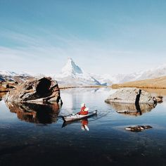 I can't get enough of this pictures. I'm still dreaming of that perfect weekend in Zermatt. Last friday i packed my @orukayak and made a road trip to Zermatt. I followed the invitation of @myswitzerland & @zermatt.matterhorn tourism. Around noon i picked up my guests from Vienna and what's happened the next 3 days made history. It was crazy awesome & mindblowing. #AGirlTheAlpsAndHerKayak  by nicolehunziker