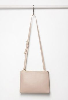 Faux Leather Dual Crossbody | Forever 21 - 1000130681