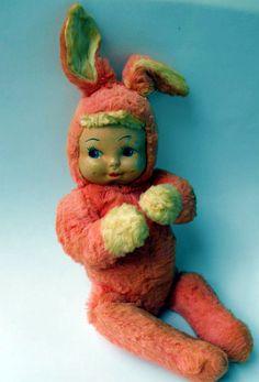 Retro 40s Gund Bunny Baby Doll