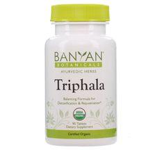 Ayurveda Products Buy Triphala Supplements Online - Organic Triphala Tablets for Sale | Banyan Botanicals
