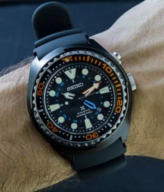 """Seiko Prospex Kinetic GMT SUN023 Dive Watch Review - by James Stacey - see the hands-on photos, video review, and read more about taking this watch actually diving with sharks in Hawaii """"In front of me lay the vast stretches of the pacific ocean as our small dive boat chugged out of Hawaii Kai and into the open waters of Maunalua Bay. This is my first time in Hawaii and, as a diver trained in the cold and dark waters of Vancouver, I've been looking forward to my first tropical dive..."""""""