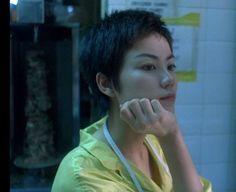 Faye Wong in Chungking Express Aesthetic People, Film Aesthetic, Faye Wong, Chungking Express, Dark City, Film Inspiration, Hair Reference, Film Stills, Ulzzang Girl