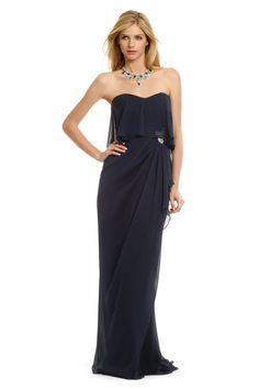Badgley Mischka Winslet Beauty Gown - rent the runway