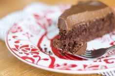 Vegan Chocolate Cake with Cashew Cream Frosting
