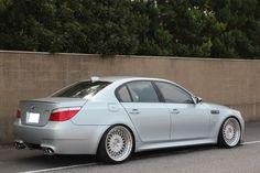BMW E60 M5 HRE ビルシュタイン車高調 サクラム kohlenstoffの2枚目の画像