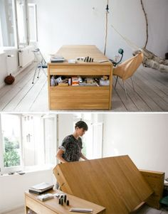 Live to Work? Sleep on Your Desk with the Workbed