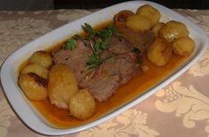 Ce plat de longe de porc rôti au four est idéal pour les jours commémoratives, est très simple à faire et délicieux. Essayez-le!