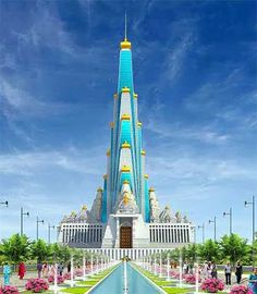 Proposed Vrindavan Chandrodaya Temple – When Completed Will Be the Tallest Temple in India and the World