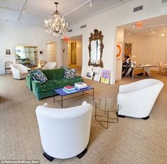 Aerin Lauder's office.                                 Pinned to * Eclectic Interiors