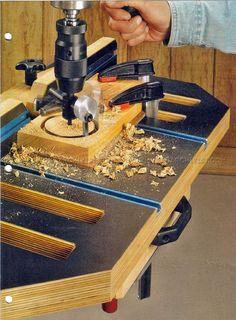 #1475 Drill Press Table Plans - Drill Press