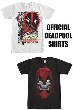 Deadpool T Shirt, Movie T Shirts, Marvel, Mens Tops, Fashion, Moda, Fashion Styles, Fashion Illustrations