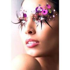 Extreme Eyeshadow Designs | Arab Fashions,Models,Style,Teens,Hollywood,Culture,Beautiful,Fun