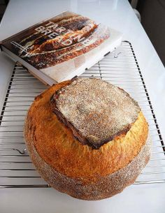 Home-baked Tartine Country Bread