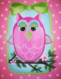 Pink owl...