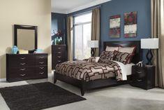 Zanbury 6 Piece Queen Bedroom Suite
